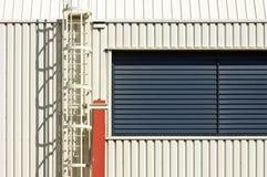 Industrial fire escape Stock Photo