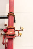 Industrial fire protection system. Stock Photo