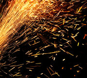 Industrial firework. Royalty Free Stock Photos