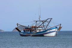 Industrial fishing boat Stock Photo