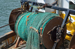 Industrial fishing nets Royalty Free Stock Images