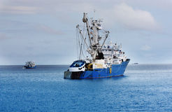 Industrial fishing vessel Royalty Free Stock Photo