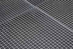 Industrial floor grating Royalty Free Stock Image