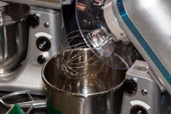 Industrial food mixer. Industrial mixer in food industry Stock Photos