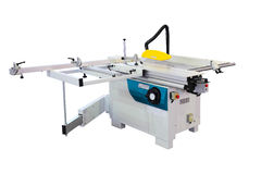 Industrial format circular saw machine Stock Images