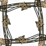 Industrial frame vector illustration