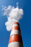 Industrial fume exhaust smokestack stock photography