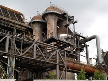 Industrial Furnace Royalty Free Stock Photo