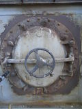 Industrial furnace door Stock Image