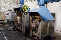 industrial furnace Royalty Free Stock Photos