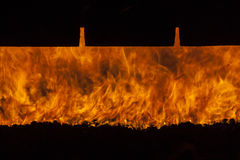 Industrial furnace - Poland. Stock Photography