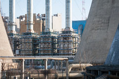 Industrial furnaces Stock Photography
