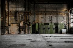 Industrial fuse boxes Stock Photos