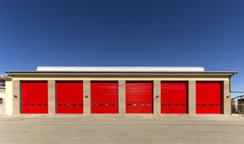 Industrial garage door Royalty Free Stock Images