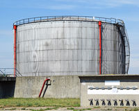 Industrial gas container Stock Photography
