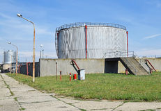 Industrial gas container Royalty Free Stock Photos