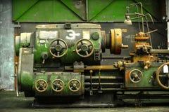 Industrial gate valves Stock Image