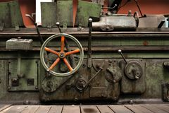 Industrial gate valves Stock Photo