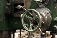 Industrial gate valves Royalty Free Stock Images
