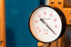 Industrial gauge Stock Images