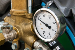 Industrial gauge Stock Photos