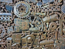 Industrial Gear Texture Stock Images