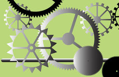 Industrial gears. Stock Photography