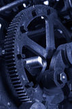 Industrial gears Stock Images