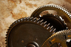 Industrial gears Stock Photography