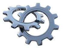 Industrial gears Royalty Free Stock Photos