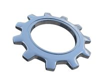 Industrial gears Royalty Free Stock Photo