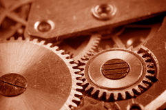 Industrial gears set Royalty Free Stock Images