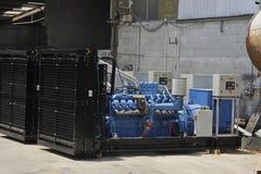 Industrial Generators Stock Photo