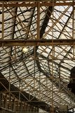 Industrial glass roof Stock Photography