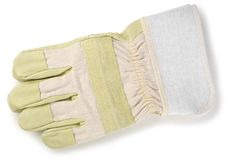 Industrial glove Royalty Free Stock Image