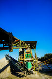 Industrial Gravel Quarry Royalty Free Stock Images