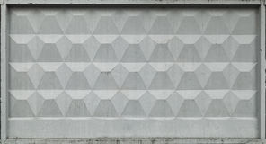 Industrial gray concrete fence texture Royalty Free Stock Image