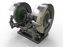 Industrial grinder Royalty Free Stock Photography