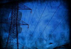 Industrial Grunge Stock Photography