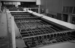 Industrial grunge scene Stock Images