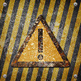Industrial grungy steel plate Stock Images