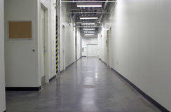 Industrial Hallway Stock Images