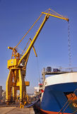 Industrial harbour Stock Photography