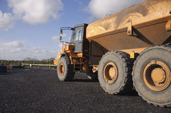 Industrial heavy mining earth truck Royalty Free Stock Photo