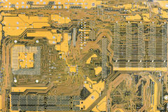 Industrial hi-tech electronic background. Industrial hi-tech background from an electronic plate Stock Images