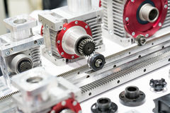 Free Industrial High Precision Gear Head And Gear Rack For Manufactur Royalty Free Stock Image - 97670236