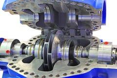 Industrial high-pressure  pump Stock Images