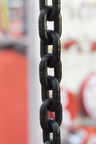 Industrial high strength Steel Chain Stock Images