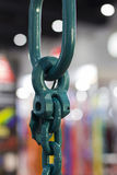 Industrial high strength Steel Chain Stock Image