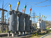Industrial High voltage converter Royalty Free Stock Photography